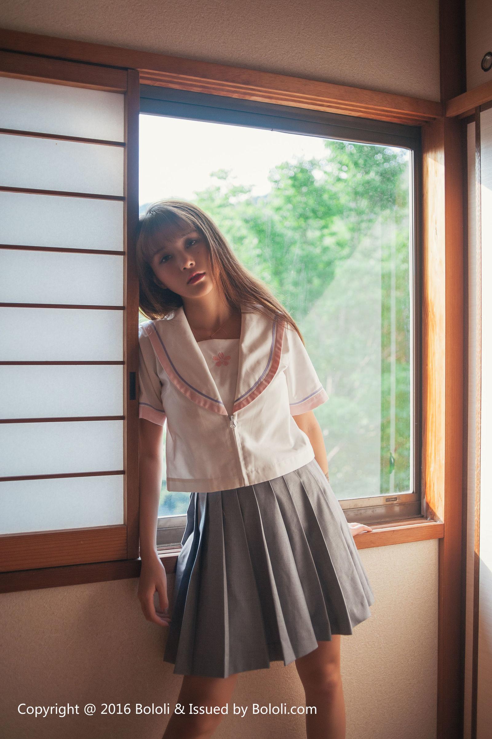 [Bololi波萝社] BOL.082 放課後の夏美酱 丝袜美图[59P]