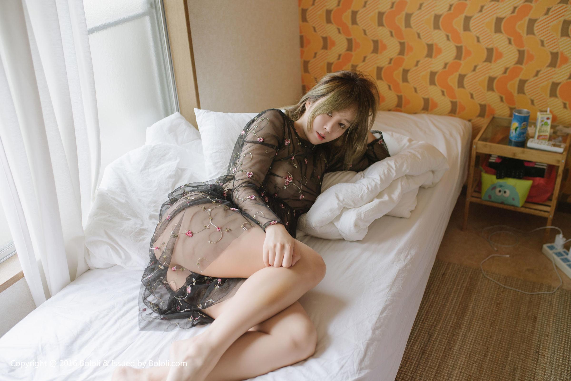 [Bololi波萝社] BOL.098 王雨纯 - 纱裙性感少女[55P]