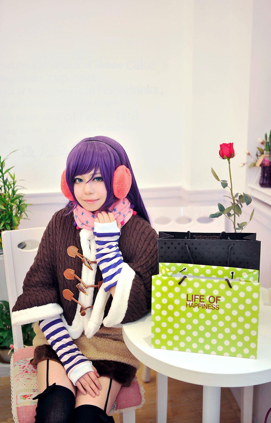 [CosPlay] lovelive!圣诞未觉醒冬装 西木野真姬东条希丝袜美图初公开 [25P]