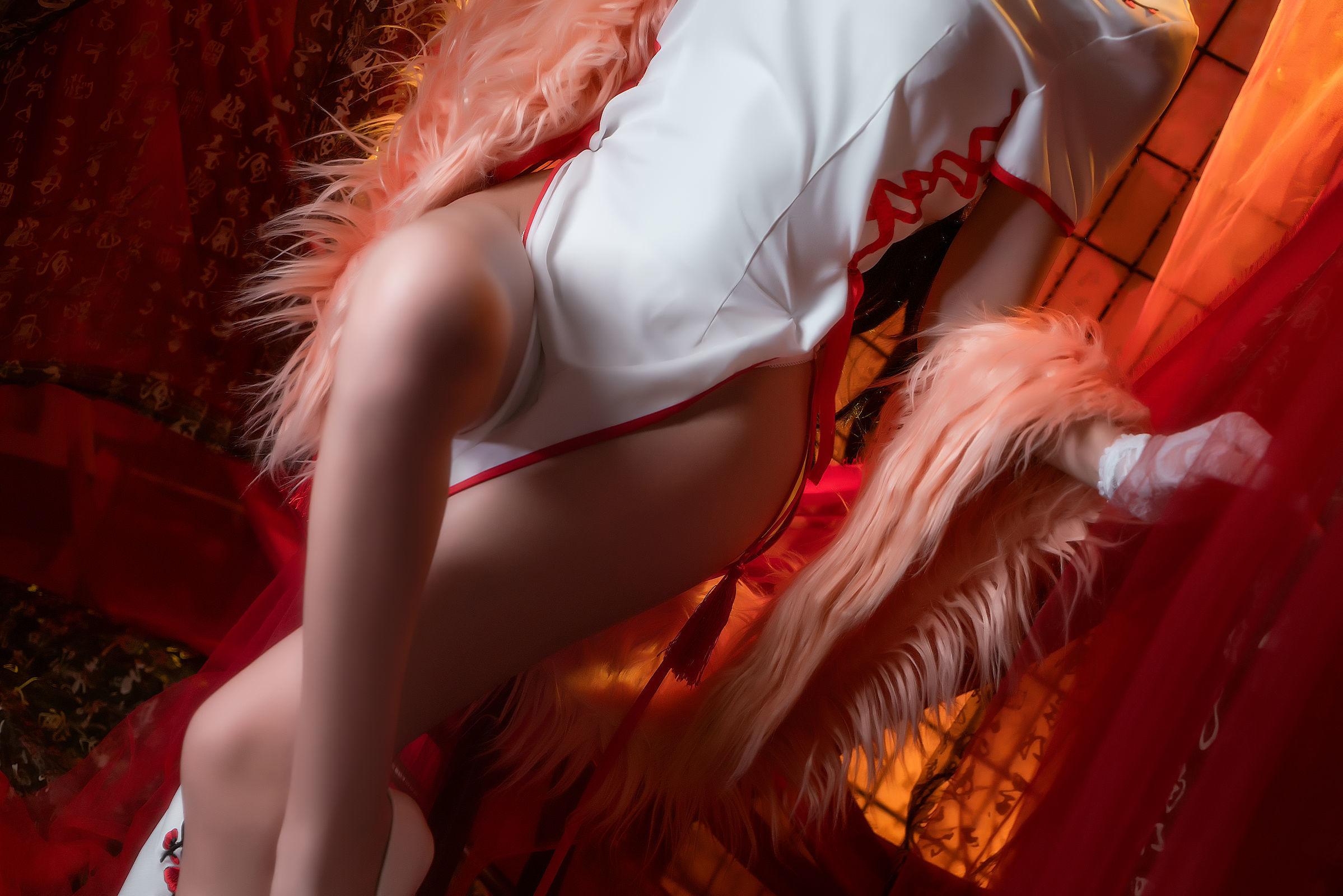 [CosPlay美女] 鳗鱼霏儿 – 碧蓝航线 旗袍 [14P]