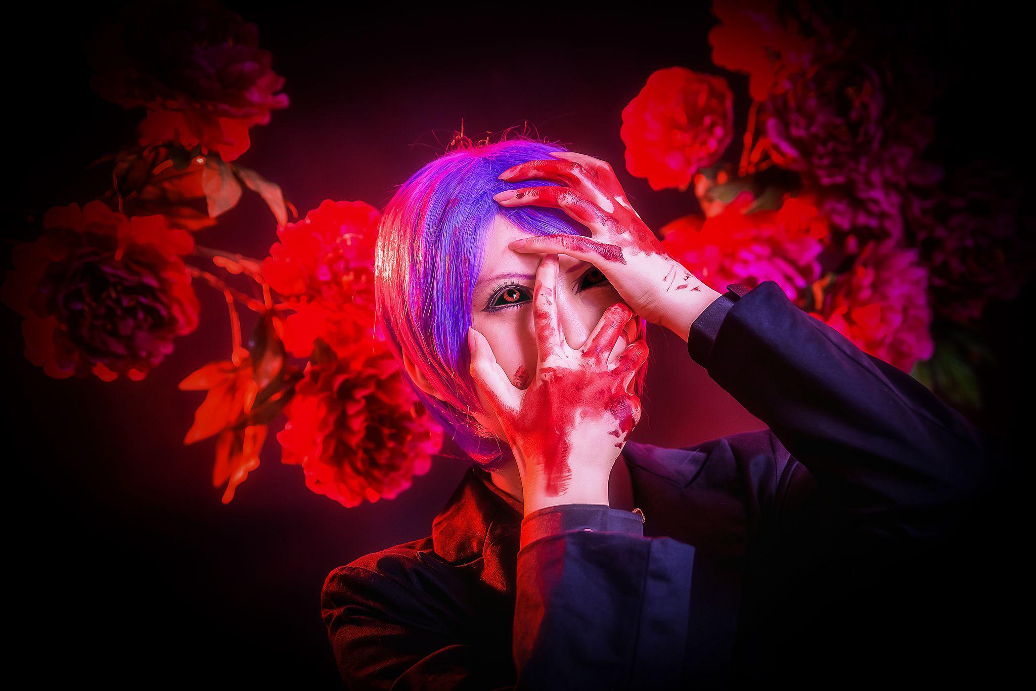 [CosPlay] No.050 东京喰种◆神代利世◆月山习 [21P]