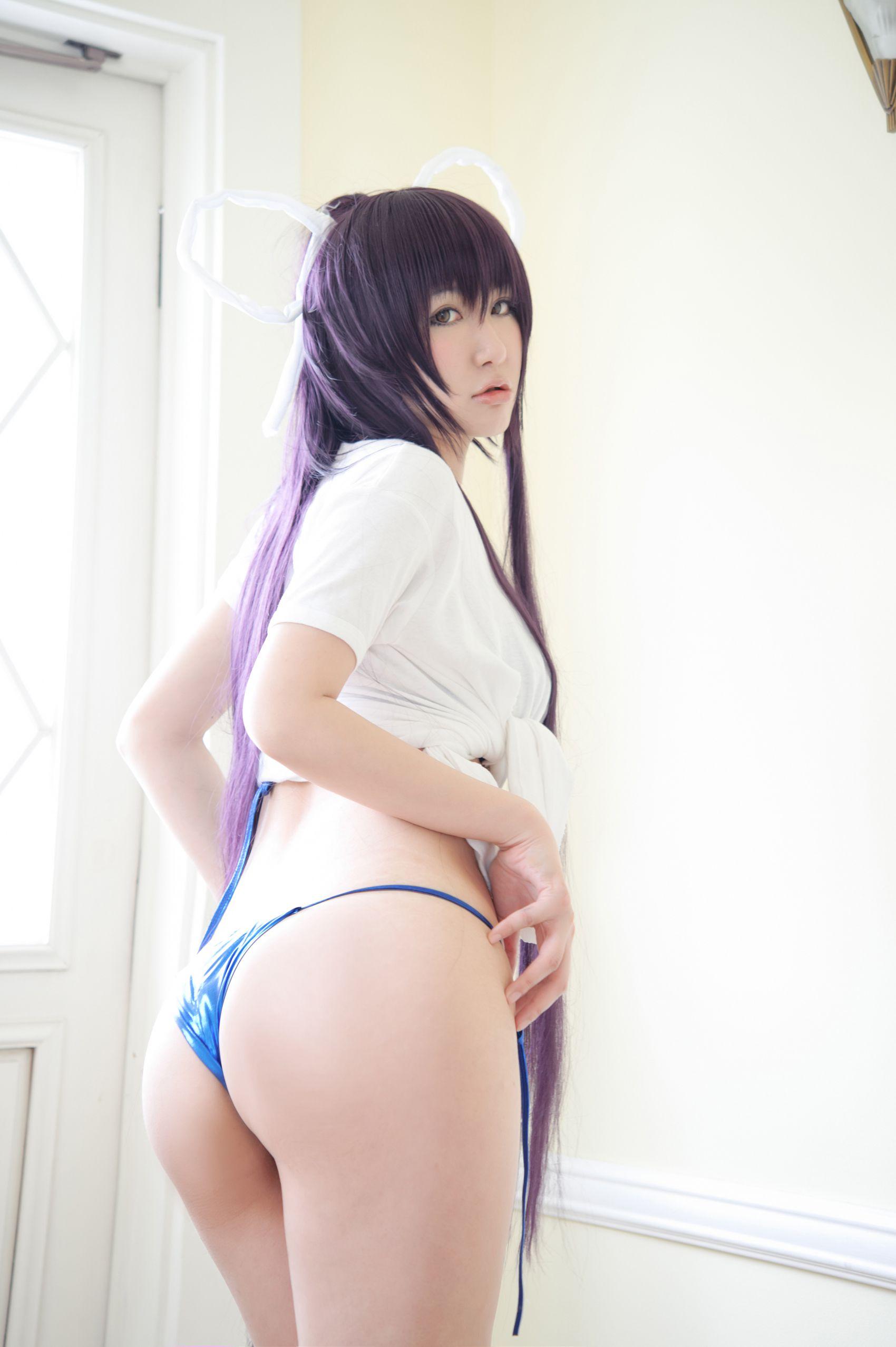 [CosPlay] 《神裂》 bikini&T 系列 [69P]