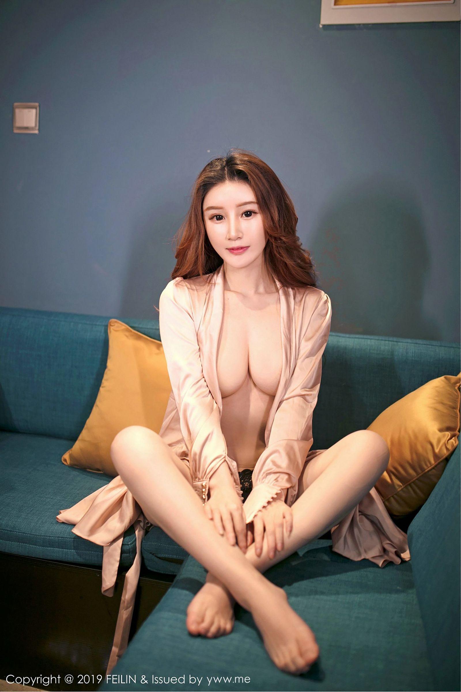 [FEILIN嗲囡囡] Vol.178 新人模特@陈媚儿首套丝袜美图[40P]