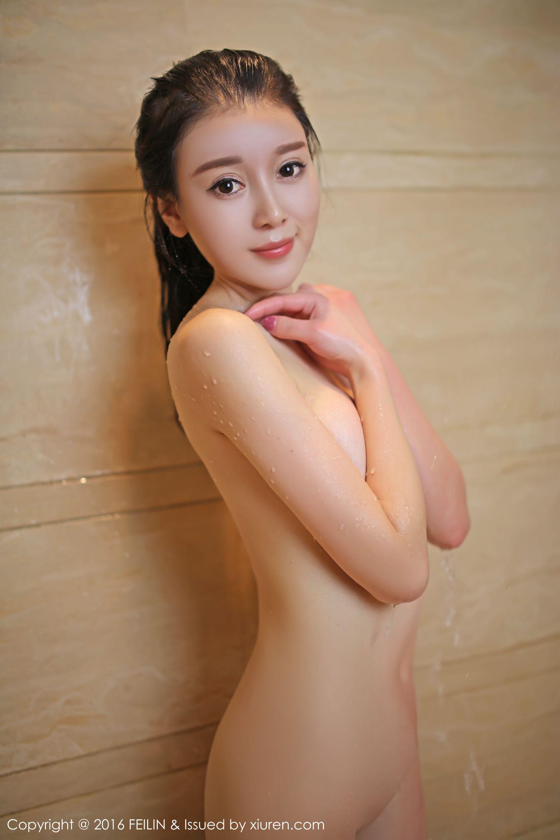 [FEILIN嗲囡囡] VOL.040 赵小米Kitty - 性感内衣诱惑[39P]