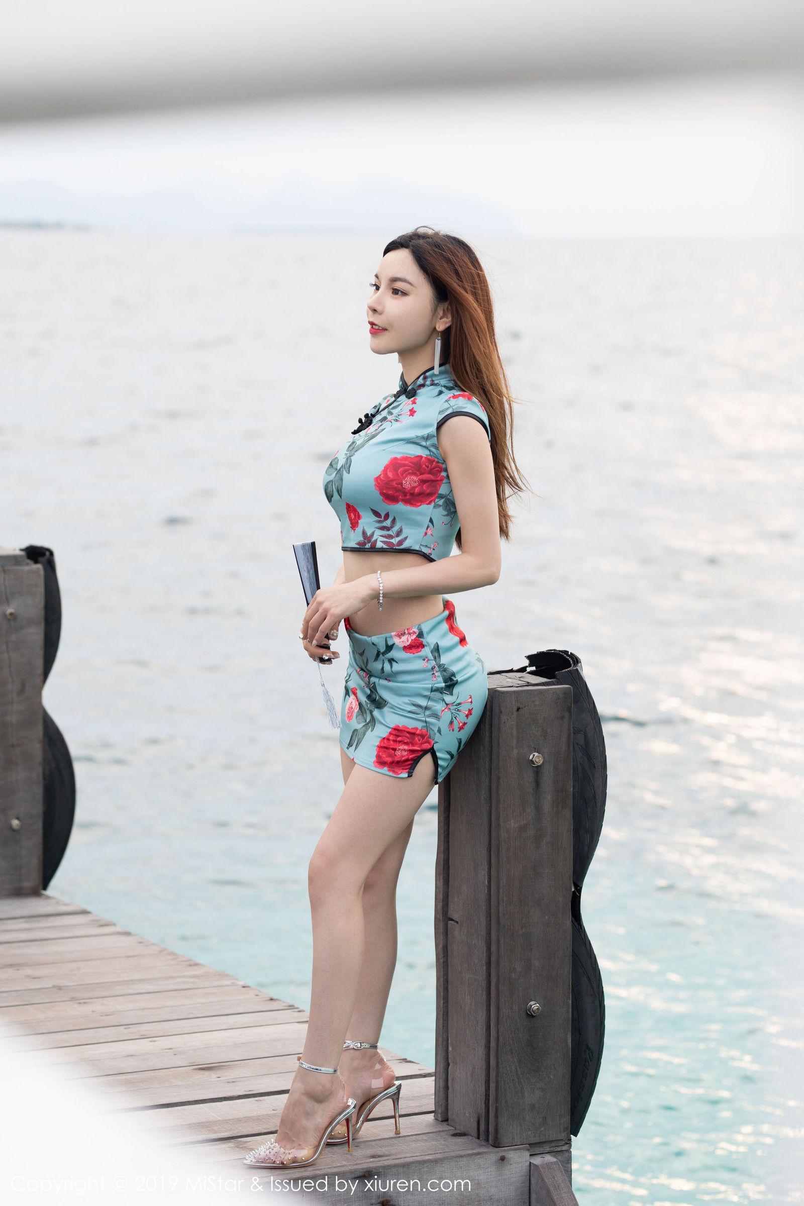[MiStar魅妍社] VOL.306 沈佳熹 - 华丽古韵的旗袍装扮[40P]