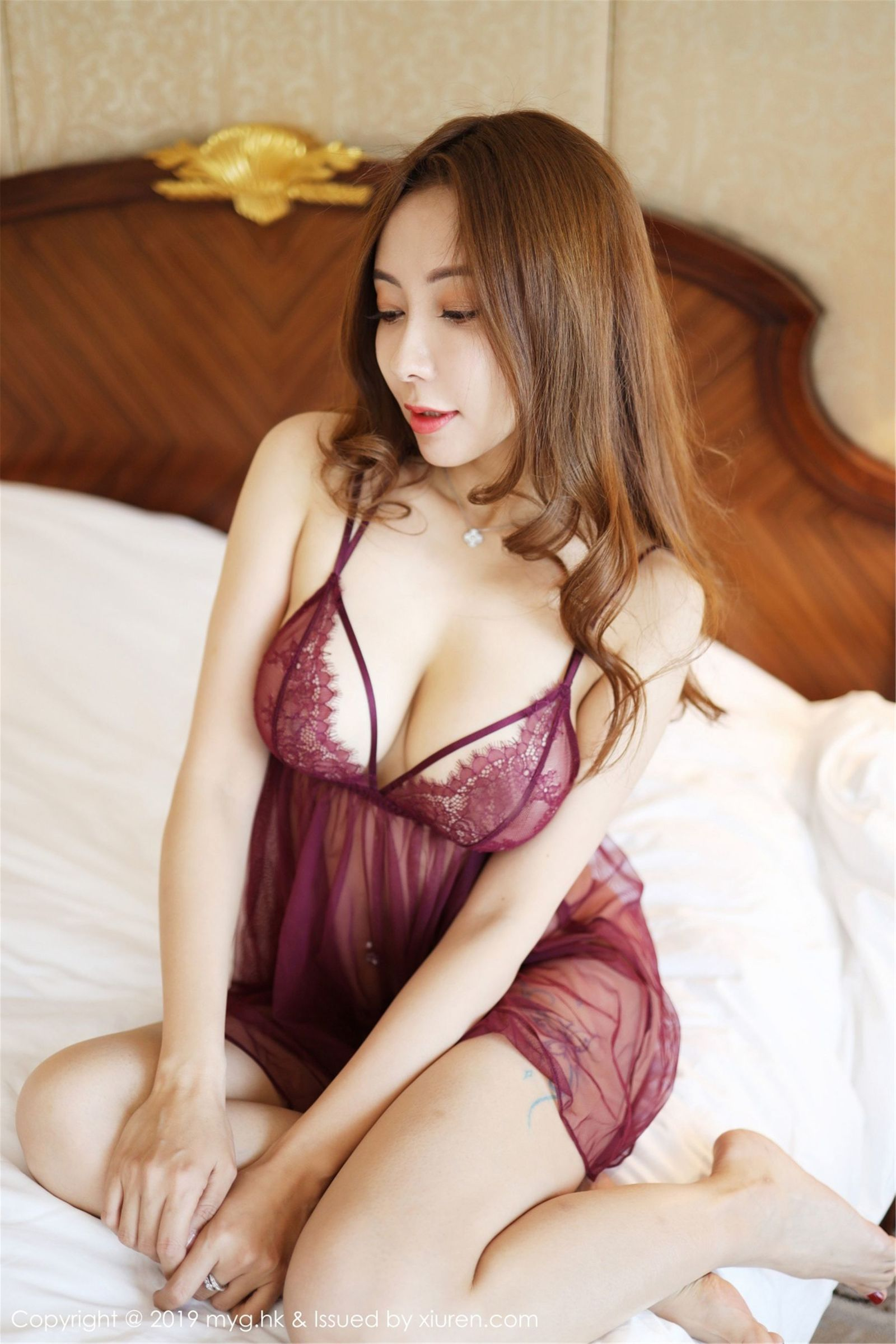 [MyGirl美媛馆] Vol.352 果儿Victoria - 精彩十足的镂空内衣系列[39P]