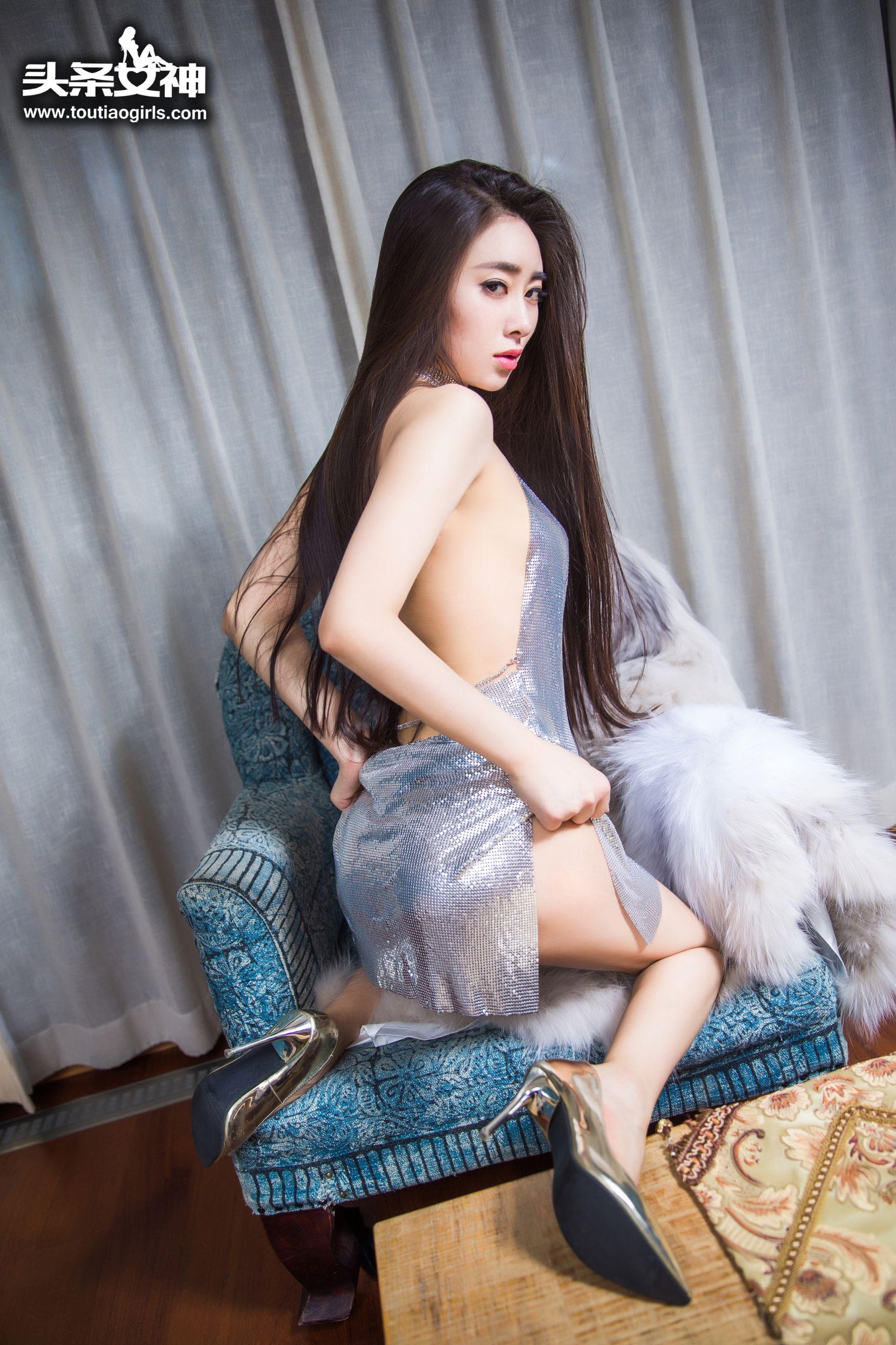 [TouTiao头条女神] No.202 穆菲菲 - 韩范恬美美腿[15P]