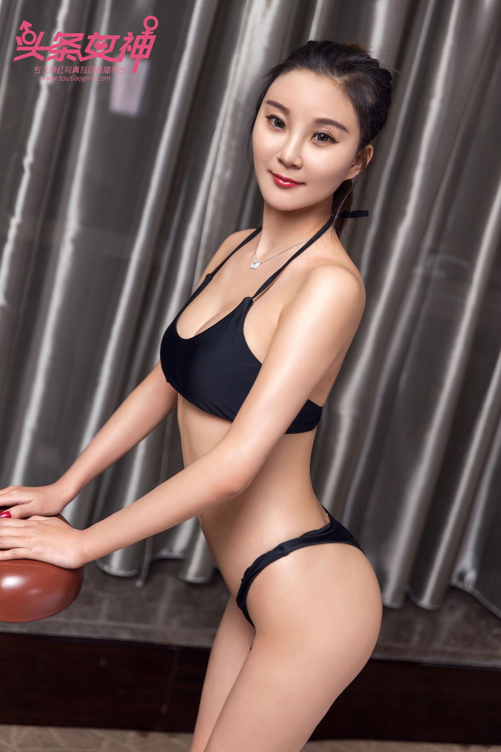 [Toutiaogirls头条女神] 琳琳 - 甜心运动 丝袜美图[18P]