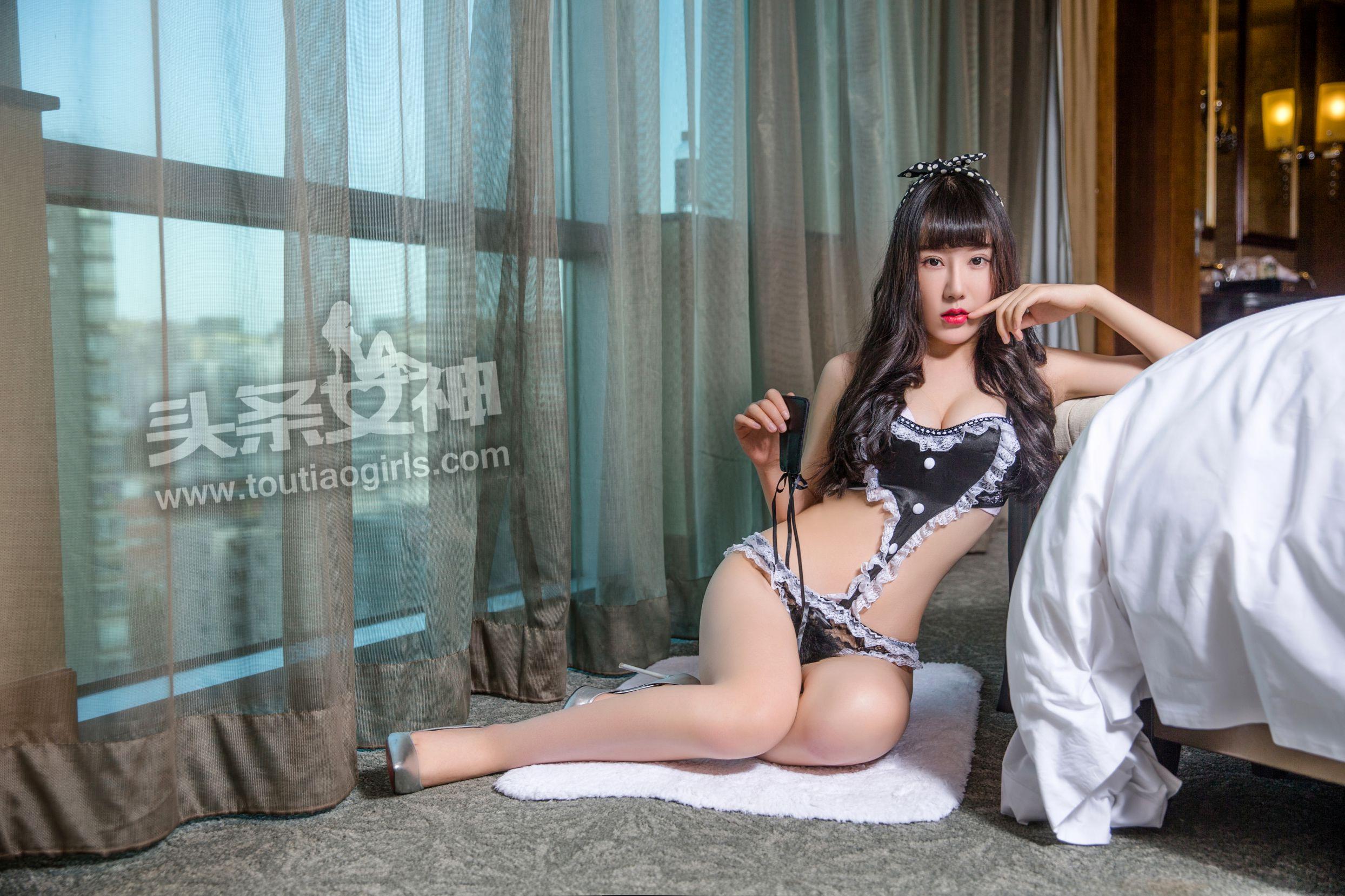 [TouTiao头条女神] VIP专辑 夏笑笑 - 女佣大征服  [37P]