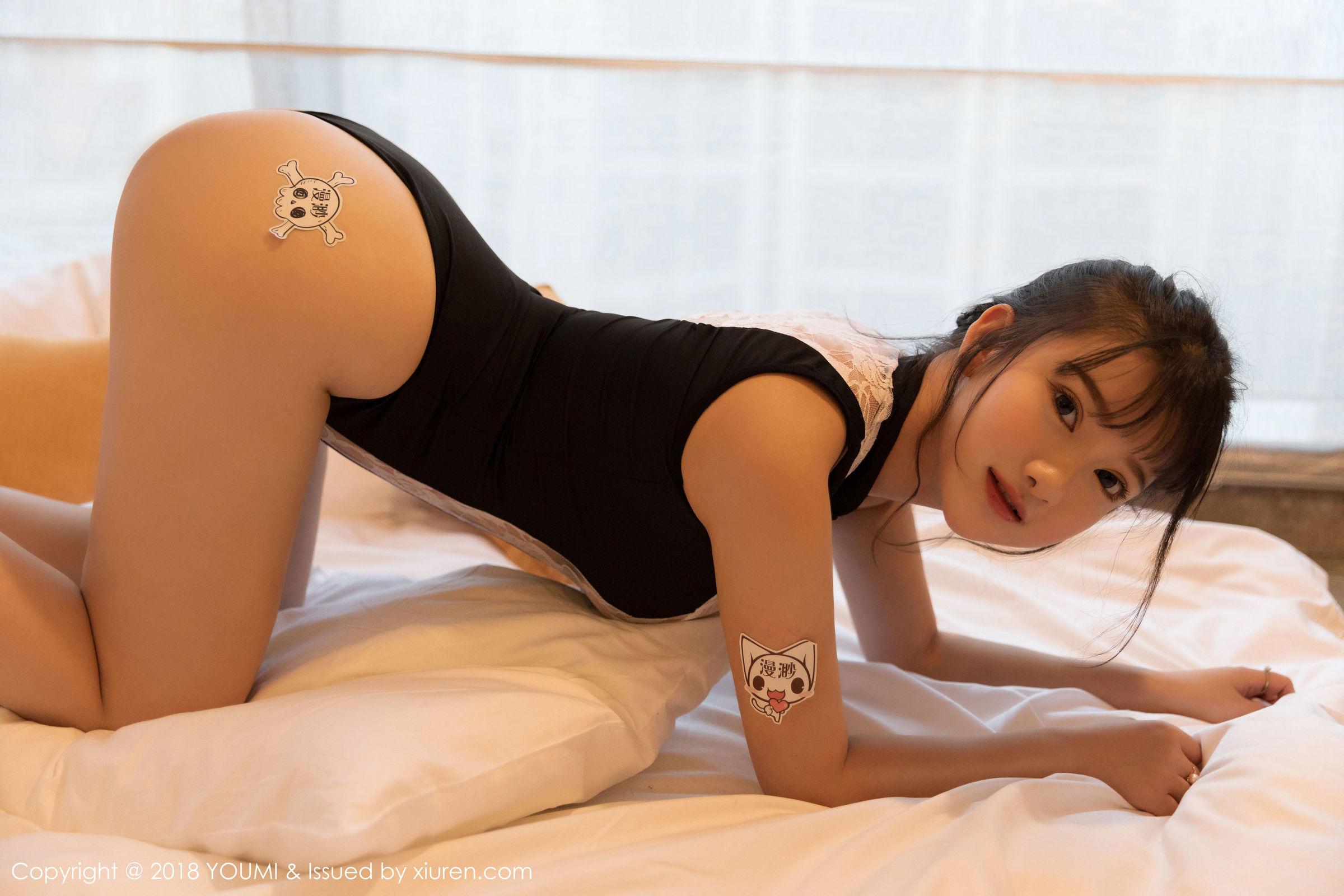 [YouMi尤蜜荟] Vol.250 童颜巨乳模特@小尤奈第二套丝袜美图[48P]