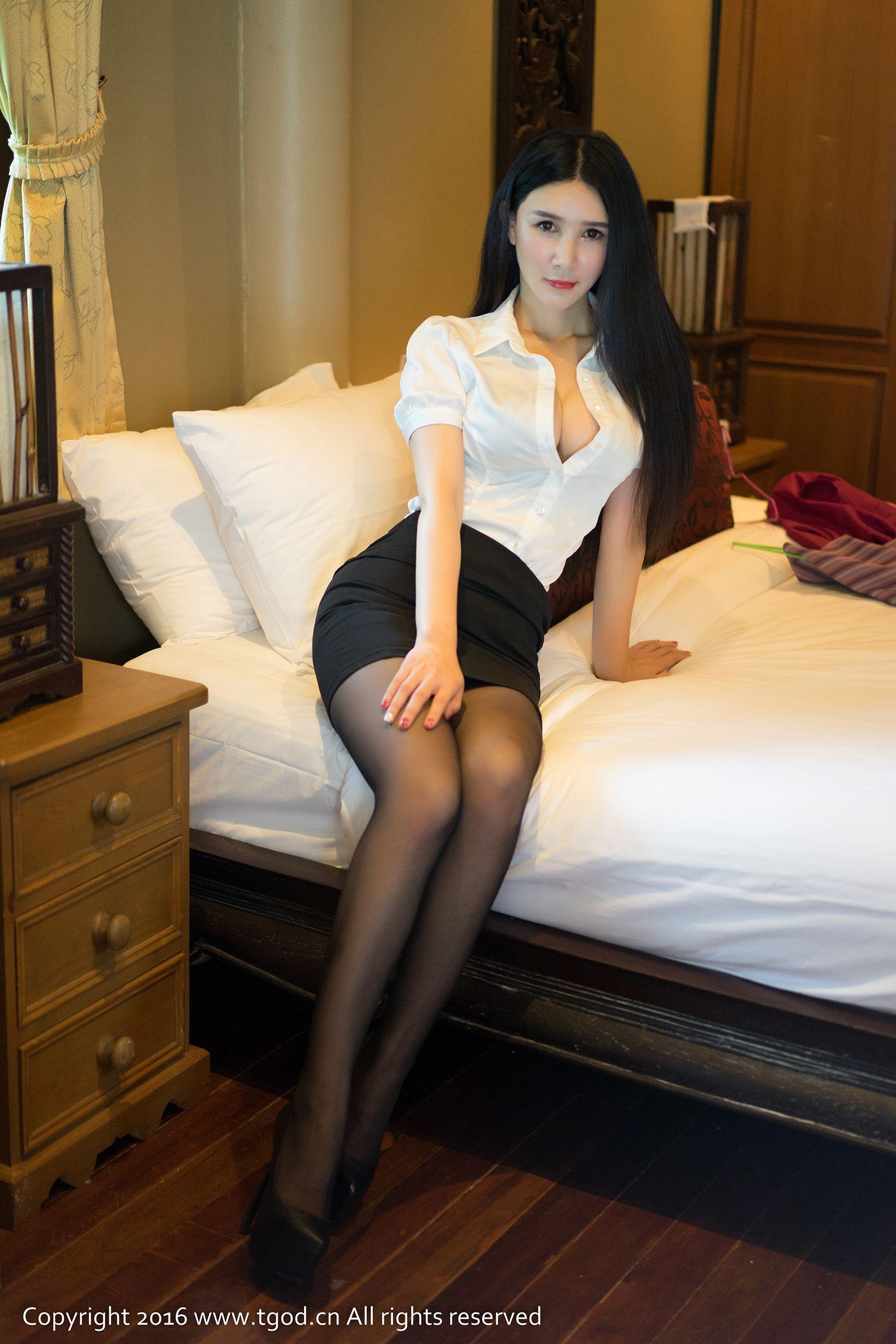 [尤蜜荟] 顾欣怡 ~黑丝OL系列《苏梅岛旅拍》 第二刊 ~ [44P]